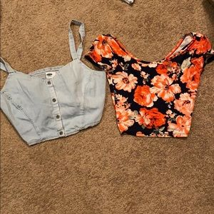Crop Tops bundle Size Small